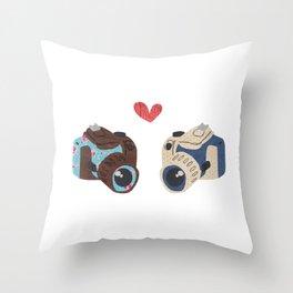 You & I Just Click Throw Pillow