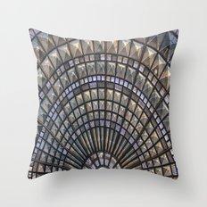 Union Station Window Throw Pillow