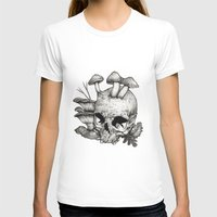 mushrooms T-shirts featuring Mushrooms by Arnaud Gomet