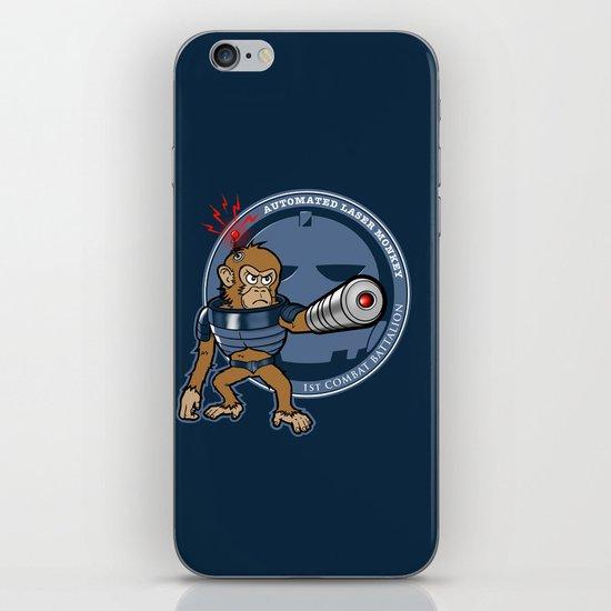Automated Laser Monkey iPhone & iPod Skin