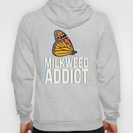 Monarch Butterfly design Gift for Milkweed Plant Lovers Awareness Hoody