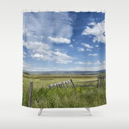 French Glen View Shower Curtain