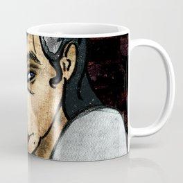 Galaxy Hair Rockabilly Girl Coffee Mug