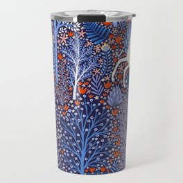 Unicorns in a nocturnal Forest Travel Mug