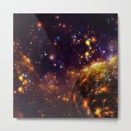 Collapsing space Metal Print