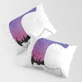 Galaxy Alphabet Series: C Pillow Sham