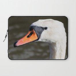 Mute swan landscape Laptop Sleeve