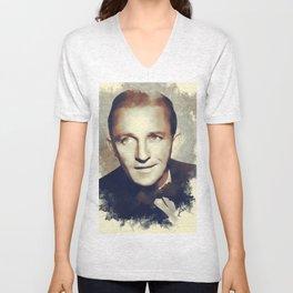 Bing Crosby, Hollywood Legend Unisex V-Neck