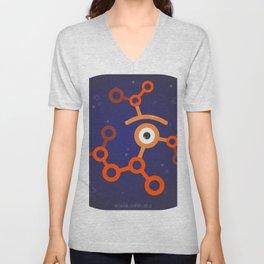 glance molecule Unisex V-Neck