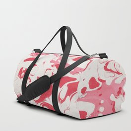 Red Bloody Watercolor paint Duffle Bag