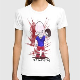 OLD AND STRONG color T-shirt