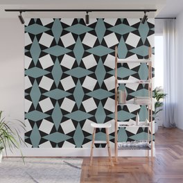 Geometric Pattern 188 (gray diamonds) Wall Mural