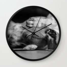 Sleep with me - Sleepy Beauty Wall Clock
