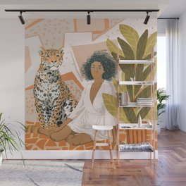House Guest Wall Mural
