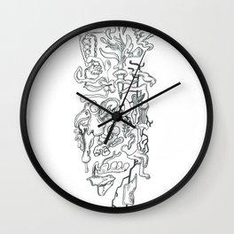 Outward Innards Wall Clock