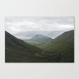 West Fjords Canvas Print