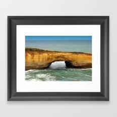 Rock Formation Framed Art Print
