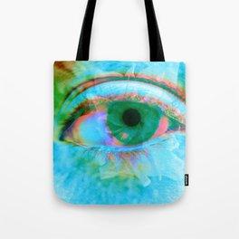 Eye in Bloom [Blue] Tote Bag