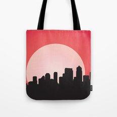 Urban Sunset Tote Bag