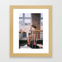I Hate Monday Framed Art Print