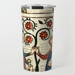 Codex Manesse: Bernger von Horheim Travel Mug