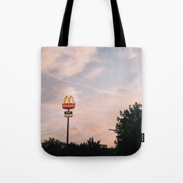 the golden arches Tote Bag