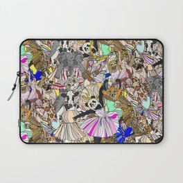 Animal Square Dance Laptop Sleeve