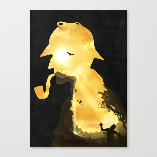 The Parting Hour Canvas Print