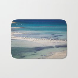 balos beach,greece Bath Mat