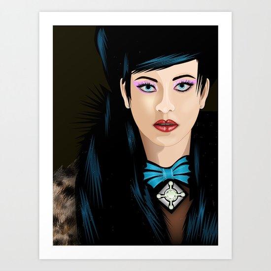 Dream Lady Art Print