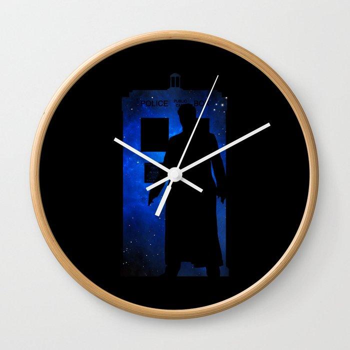 Allons-y!!! Wall Clock