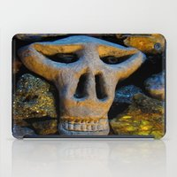 minerals iPad Cases featuring skull and minerals by giol's