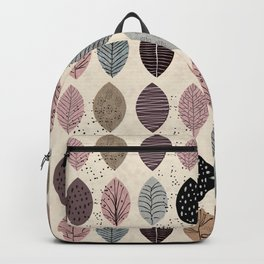 Nature Inspired Leaves Backpack