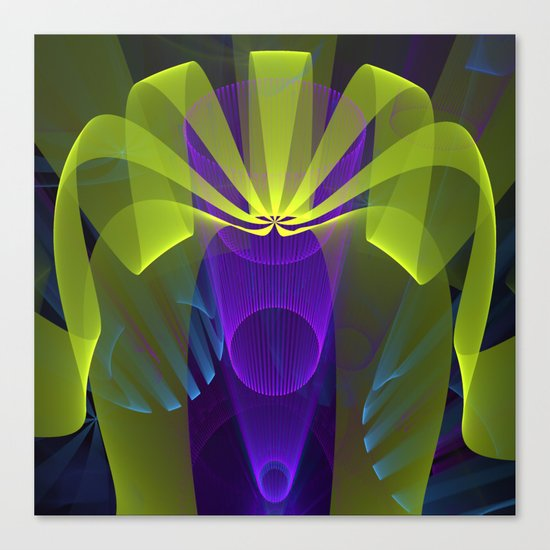 Modern abstract in 3-d Canvas Print