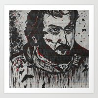 kubrick Art Prints featuring Kubrick by love & nate