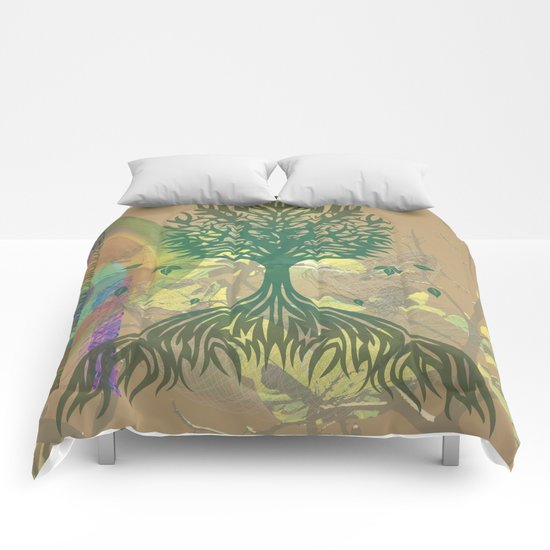 Color My World Green Comforters