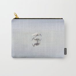 Egret Dance Carry-All Pouch