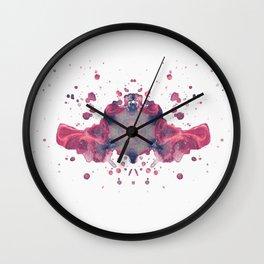 Inkdala I (Rorschach) Wall Clock