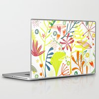 tropical Laptop & iPad Skins featuring Tropical by Nic Squirrell