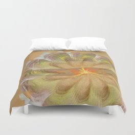 Sluffed Raw Flower  ID:16165-085108-61771 Duvet Cover