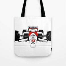 Senna MP4/4 Tote Bag