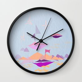 kisses in the sky  Wall Clock
