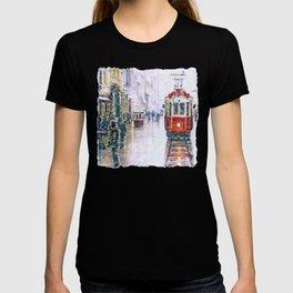 Istanbul Nostalgic Tramway T-shirt
