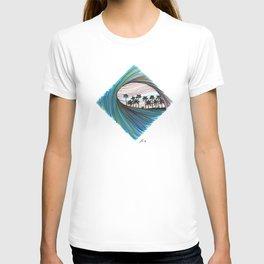 Squared tube T-shirt