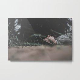 55 / Outdoor meditation Metal Print