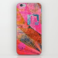 grunge iPhone & iPod Skins featuring Grunge by Fine2art