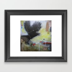 Crow1 Framed Art Print