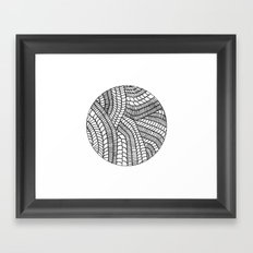 Circle Series #5 Framed Art Print
