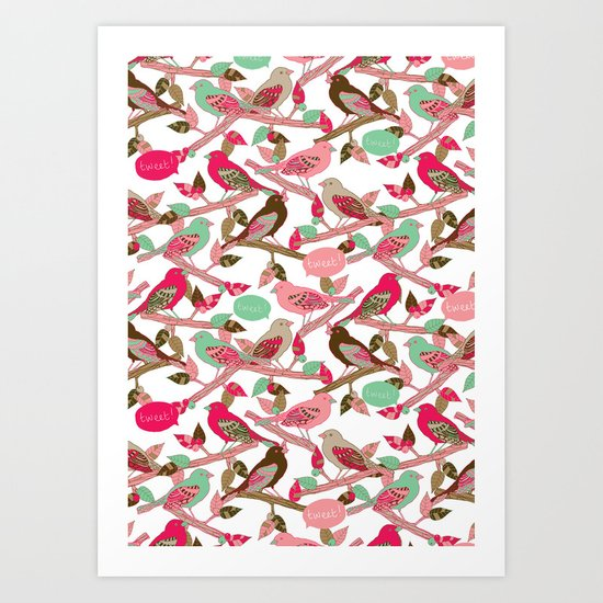 Tweet! Art Print