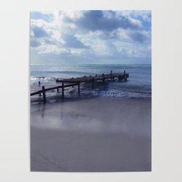 Pier in Aruba Poster